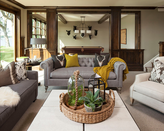 throw blanket on sofa: 18 cozy living room decorating ideas - style Couch Throw Ideas