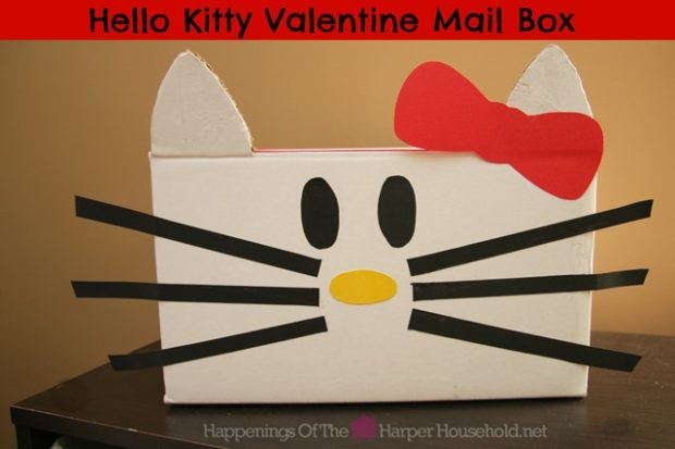Kids Crafts: 16 Adorable Valentine Boxes for Girls - valentine's day kids craft, Valentine Boxes for Girls, Valentine Boxes, diy Valentine's day gifts for kids, diy Valentine's day decorations, diy Valentine's day, diy Valentine Boxes, diy kids crafts