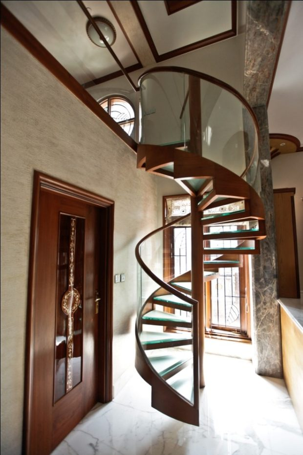 14 Unbelievable Staircase Designs That Will Makeover Your Home - Stairs, staircase, stair modern, spiral, rustic, interior, home decor, handrails, glass, contemporary