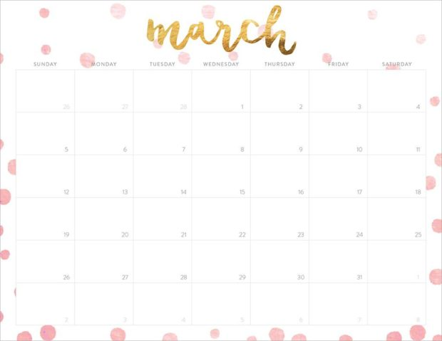 Get Your Life Organized  Great Free Printable Calendars For