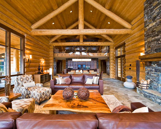 18 Cozy and Rustic Cabin Living Room Design Ideas  Style Motivation