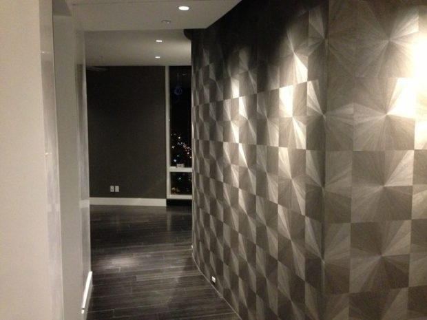 16 Amazing Wood Veneer Wallcovering Ideas - Wood Veneer Wallcovering Ideas, wall, accent wall