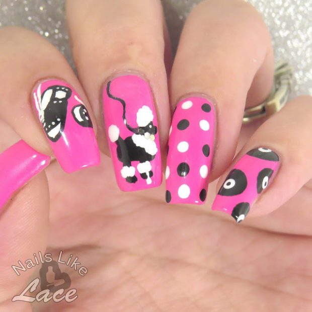 15 Cute Nail Art Ideas inspired by Different Decades