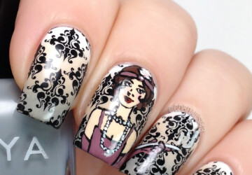 15 Cute Nail Art Ideas inspired by Different Decades - nail art ideas, nail art design, Nail Art, cute nail art
