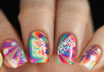 16 Creative Colorful Nail Art Ideas - nail art ideas, colorful nail art, colorful nail