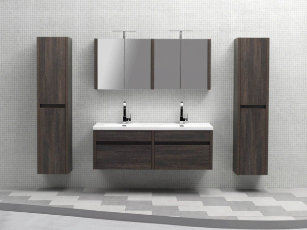 Beautify Your Bathroom With Bathroom Vanities - wall-mounted, Wall Mounted Bathroom Vanity, Vanity Sinks, RESTROOM, Double Vanity, bathroom