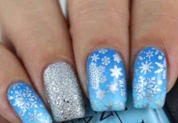16 Adorable Winter Inspired Nail Art Ideas - winter Nail Art Ideas, winter nail art, nail art ideas