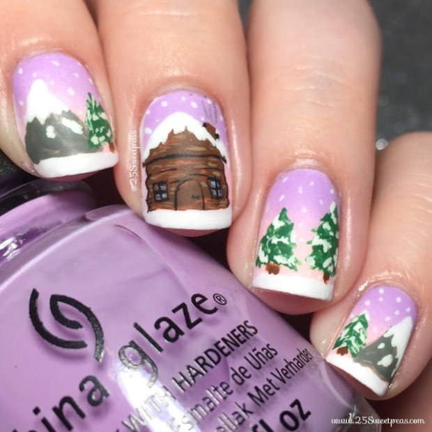 16 Adorable Winter Inspired Nail Art Ideas