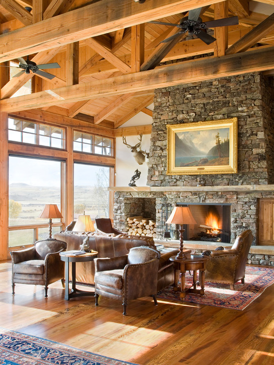 16 Chic Details For Cozy Rustic Living Room Decor: 17 Rustic Living Room Design Ideas For A Cozy Home