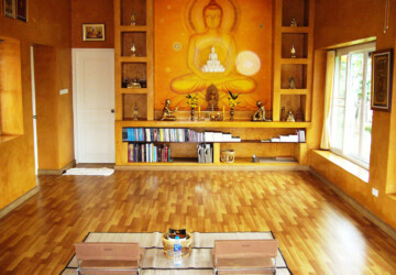 Zen Space: 20 Beautiful Meditation Room Design Ideas - Zen Space, zen, Meditation Room Design Ideas, Meditation Room