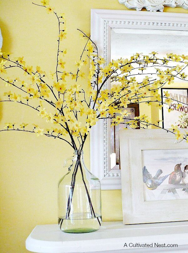 Fill a Vase with Beautiful Floral Branches