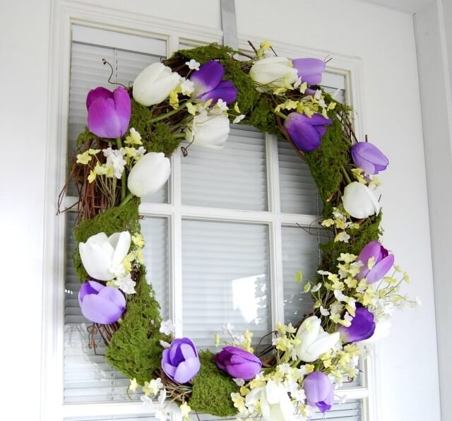 Bring Spring Indoors with Cheery Mantel Décor