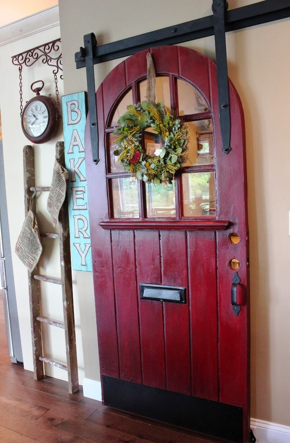 Round Top Door Lends Magic and Mystery