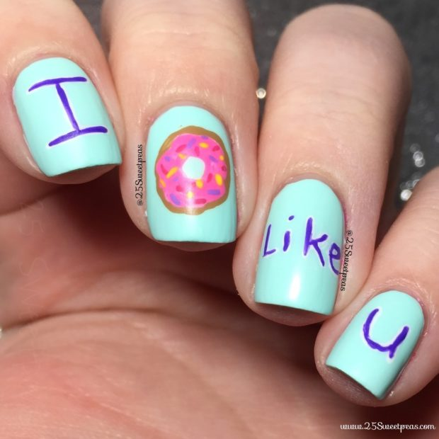 13 Crazy Anti Valentines Day Nail Art Ideas