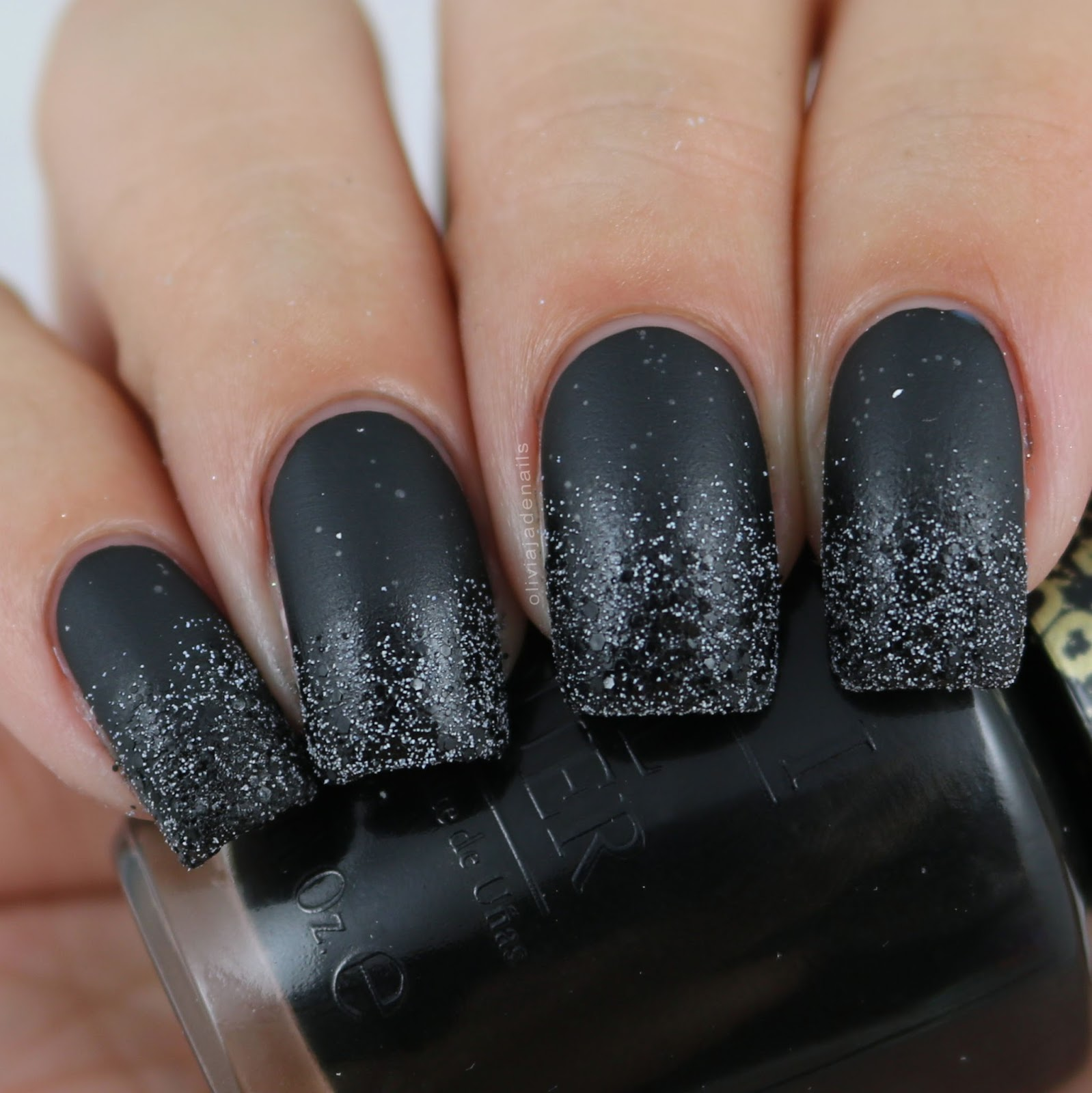 Black Nail Art: 18 Bold Black Nail Art Designs And Ideas