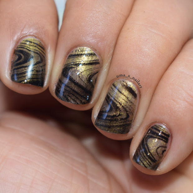 Black Base for Statement Nails: 17 Stunning Nail Art Ideas (Part 1)