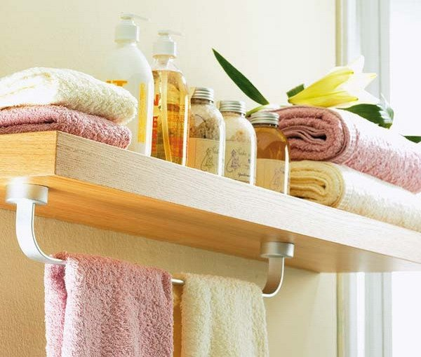 Bathroom Towel Storage Ideas : Functional diy small bathroom storage ideas style