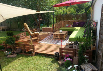 16 Clever DIY Garden Pallet Projects - diy pallet furniture, DIY Pallet, diy garden projects, DIY Garden Pallet Projects, diy garden