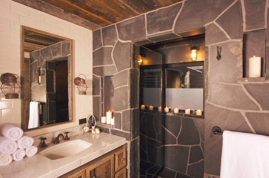 17 Inspiring Rustic Bathroom Decor Ideas for Cozy Home - Style Motivation