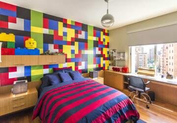 Kids Room Ideas: 15 Lego Room Decor - Lego Room Decor, kids rooms, Kids Room Ideas, kids bedroom design, colorful kids bedroom