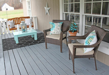 Welcome Spring: 18 Lovely Porch Decor Ideas - Welcome Spring, Spring Decor On Your Balcony, spring decor, porch design ideas, Porch Decor Ideas, DIY Porch Decor Ideas