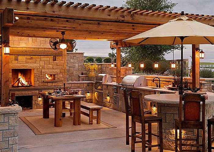 Outdoor Kitchen Ideas Th 17 functional and practical outdoor kitchen design ideas - style