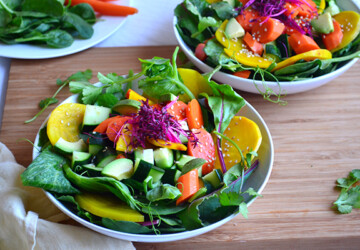 Spring Salads: 16 Great Healthy Recipes (Part 2) - Spring Salads: 16 Great Healthy Recipes, Spring Salads Recipes, Spring Salads, spring recipes, healthy recipes