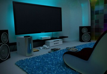 15 Awesome Video Game Room Design Ideas You Must See - Room Design Ideas, Game Room Design Ideas, Game Room