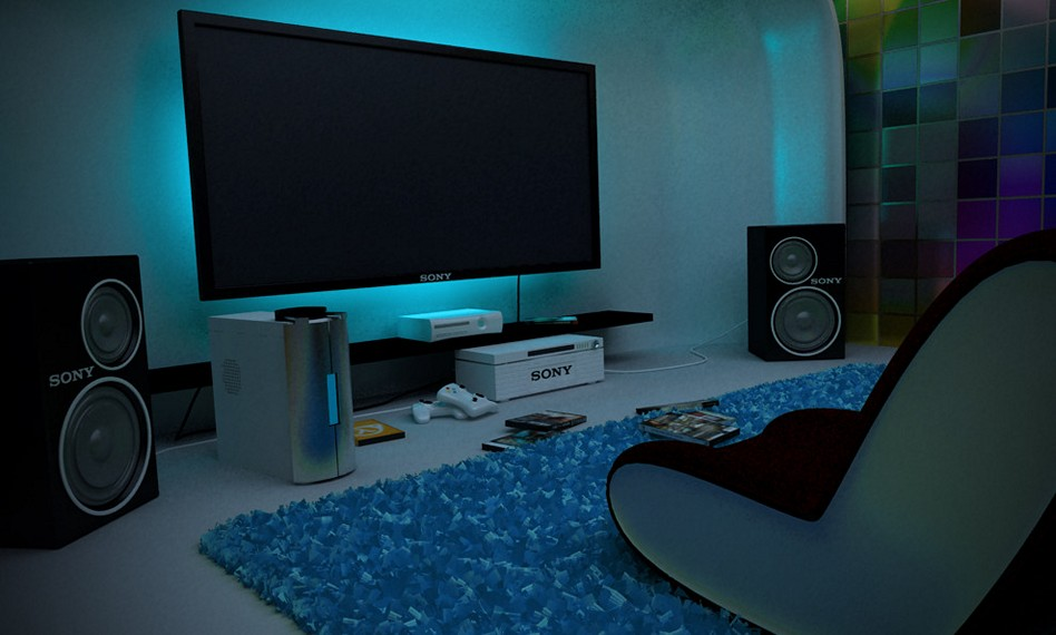 15 awesome video game room design ideas you must see for Baby room decoration games