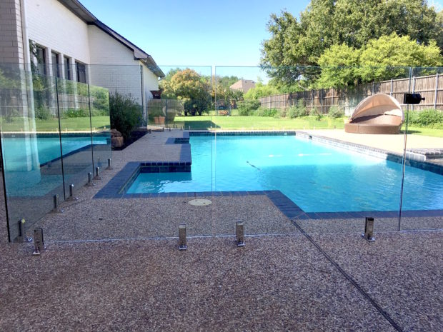 Glass Pool Fencing for Backyard Renovation