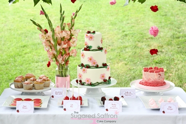 15 Amazing Spring Themed Wedding Cake Ideas