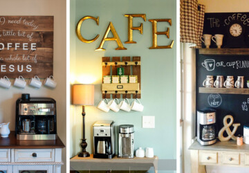 Charming Coffee Station Design Ideas for Starting Your Day Off Right - kitchen coffee station, home coffee station, Coffee Stations Design Ideas, Coffee Stations, coffee station, coffee lovers