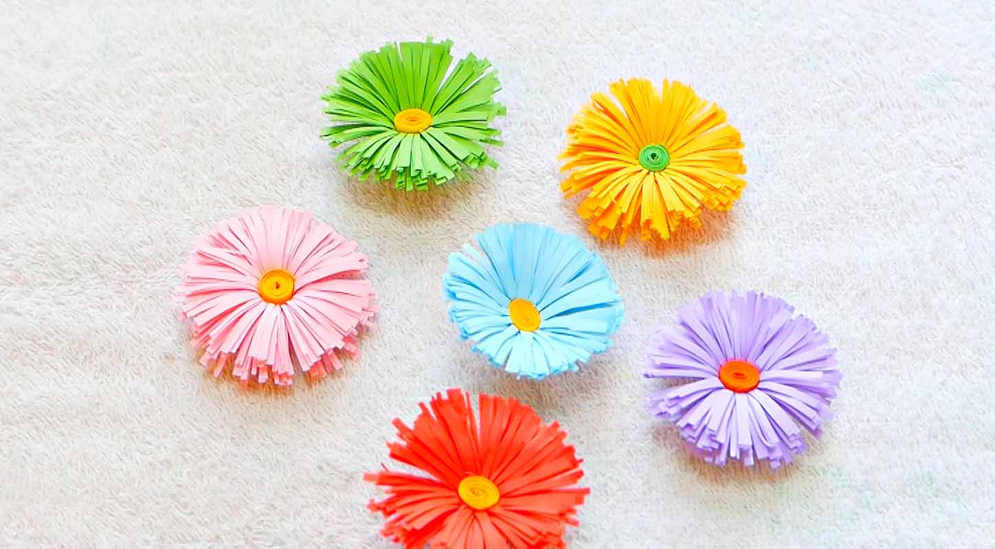Welcome Spring 20 Cute Paper Flower Crafts Style Motivation