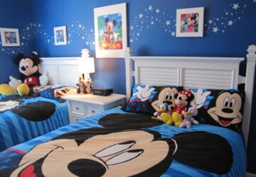 16 Adorable Cartoon Inspired Bedroom Design Ideas For Kids - kids bedroom design, kids bedroom, cartoons caracters, Cartoons, Cartoon Inspired Bedroom Design Ideas