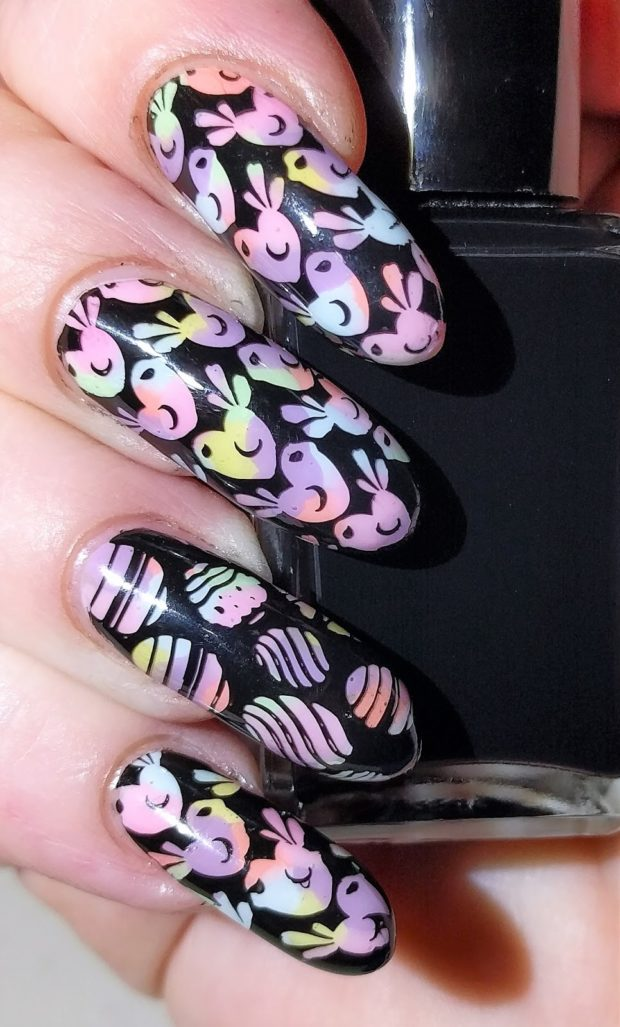 17 Cute Spring Animal Themed Nail Art Ideas - Style Motivation