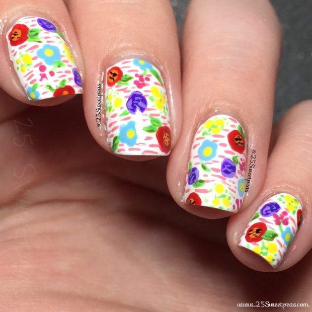 Gorgeous Rainbow Nail Art Designs You Can Do Yourself