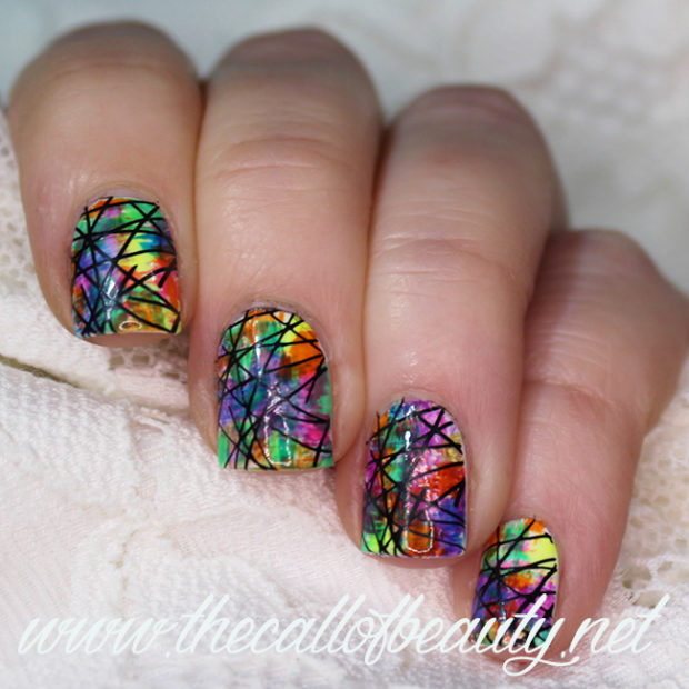 Gorgeous rainbow nail art designs you can do yourself style gorgeous rainbow nail art designs you can do yourself prinsesfo Images
