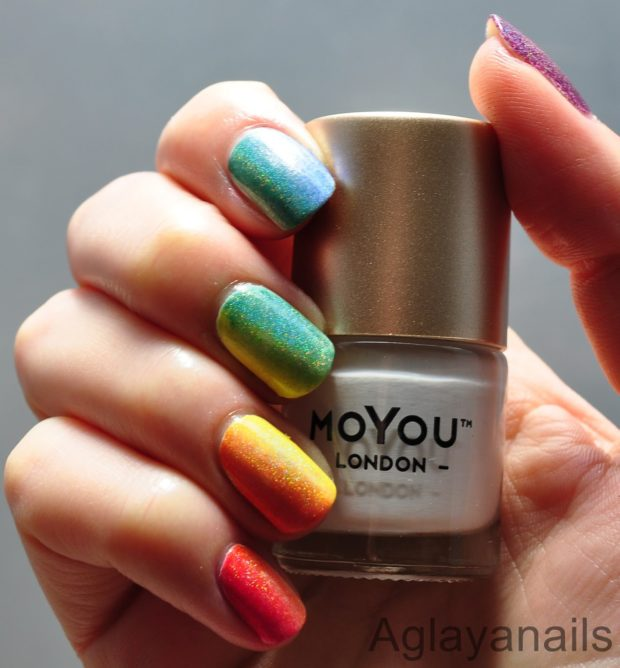 Gorgeous Rainbow Nail Art Designs You Can Do Yourself - Style Motivation