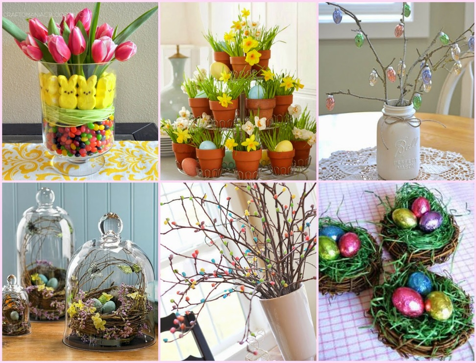 19 beautiful diy easter centerpiece ideas style motivation Images for easter decorations