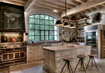 Country Style: 13 Rustic Kitchen Design Ideas - Rustic Kitchen Design Ideas, rustic kitchen, Rustic Design Ideas