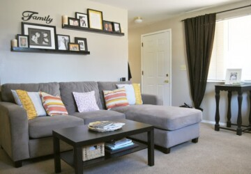 20 Lovely Decor Ideas for Adding Impact Above The Sofa - Wall Art Ideas, wall art decor, Wall Art Above Your Bed, Decor Ideas for Adding Impact Above The Sofa, chich living room, Above The Sofa