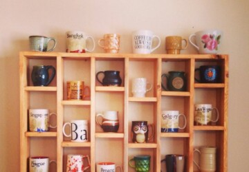 14 Creative DIY Mug Storage and Organization Ideas - diy storage, DIY Organization Ideas, DIY mugs, DIY Mug Storage and Organization Ideas, DIY Mug Storage, DIY Mug Organization Ideas, DIY mug, diy kitchen organization