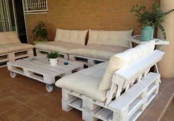 14 Amazing DIY Pallet Furniture For Practical Outdoor Patio - DIY Patio, DIY Pallet Furniture For Practical Outdoor Patio, diy pallet furniture, diy outdoor furniture, diy outdoor, diy furniture