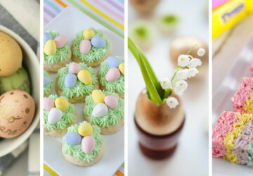 15 Fun and Easy DIY Easter Decor Projects - diy Easter decorations, DIY Easter Decor Projects, DIY Easter Centerpiece, diy Easter