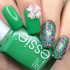 18 bright spring nail art ideas in green shades  style