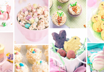 16 Unique Ideas for Delicious Easter Desert - Easter recipes, Easter desserts, Easter Cake, Easter Bunny Cake, Easter