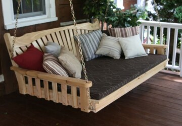 13 Dreamy DIY Porch Swing Bed Ideas - porch swing, DIY Porch Swing Bed Ideas, DIY Porch Swing, DIY Porch Decor Ideas, diy porch