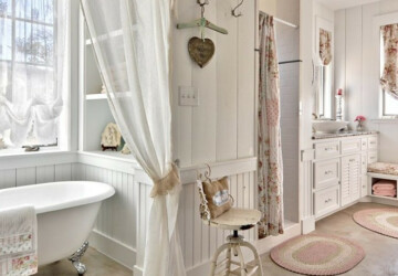 15 Lovely Shabby Chic Bathroom Decor Ideas - Shabby Chic Bathroom Decor Ideas, Shabby Chic Bathroom, Shabby Chic, Rustic Bathroom Decor Ideas, Bathroom Decor Ideas
