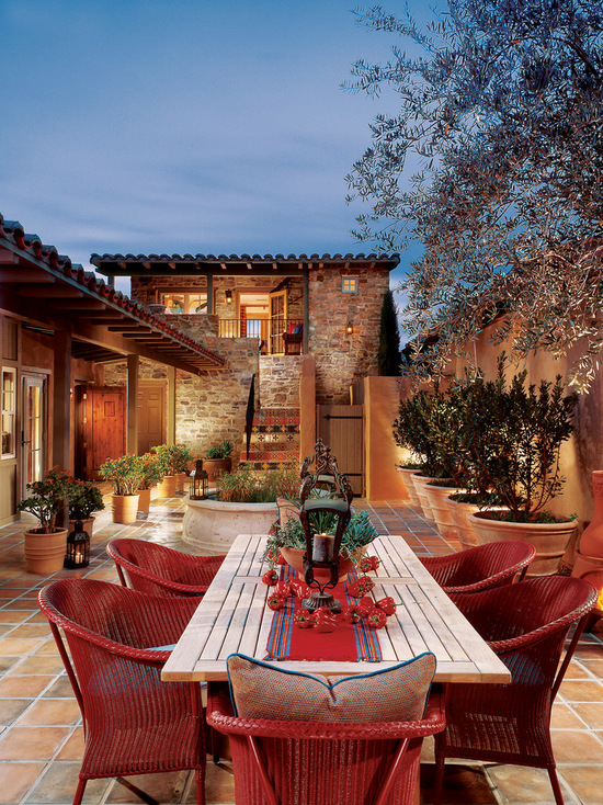 18 Stunning Patio Design Ideas in Tuscan Style