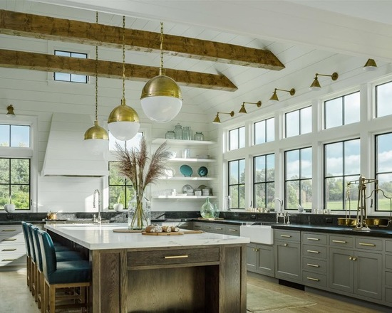 20 Stunning Farmhouse Kitchen Design Ideas